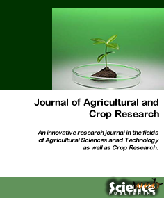 Journal of Agricultural and Crop Research запрошує до співпраці